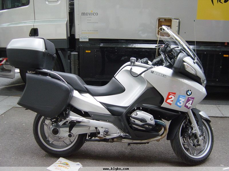 Moto BMW journaliste